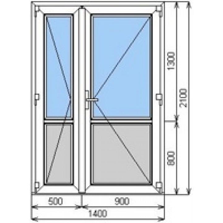 Дверь входная WDS 4 металопластиковая, заказать недорого по низким ценам.