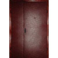 Двери  железные стандарт ( кожвенил 2-е стороны)