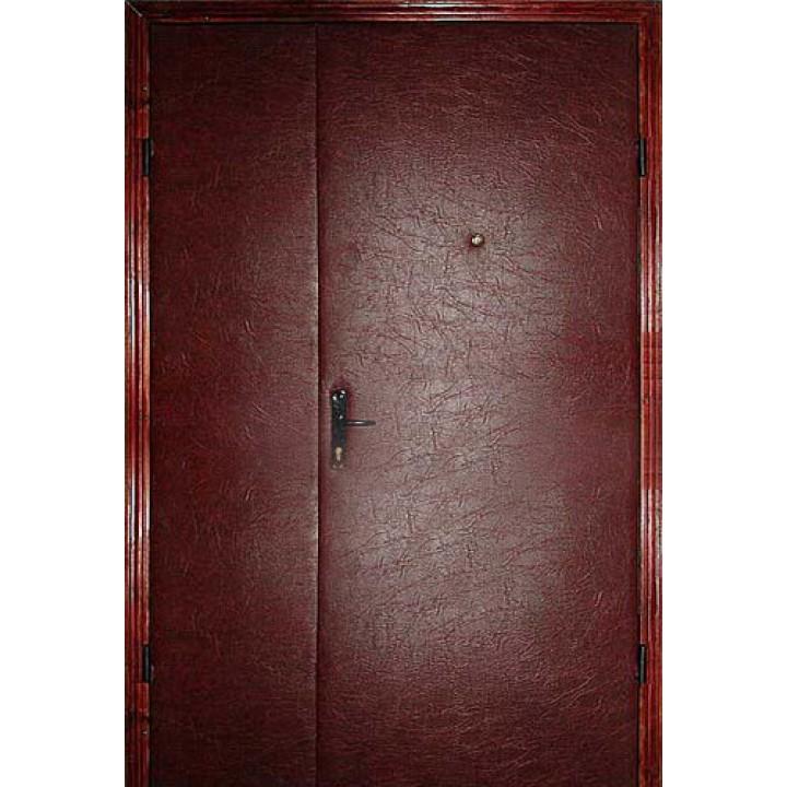 Двери  железные стандарт ( кожвенил 2-е стороны), заказать недорого по низким ценам.