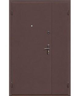 Двери  железные стандарт двухстворчатая