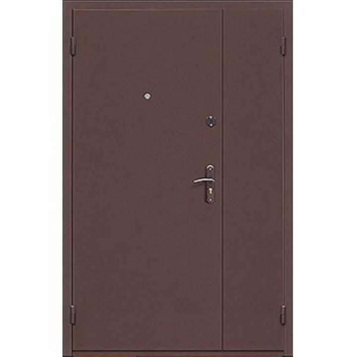 Двери  железные стандарт двухстворчатая, заказать недорого по низким ценам.