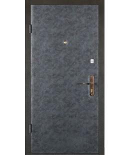 Двери  железные стандарт (кожвенил с двух сторон)