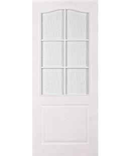 двери МДФ классик  грунтованная с рамкой без стекла