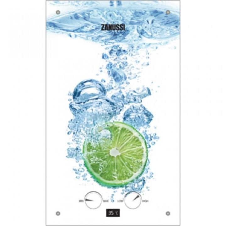 Газовая колонка Zanussi GWH 10 Fonte Glass Lime, заказать недорого по низким ценам.
