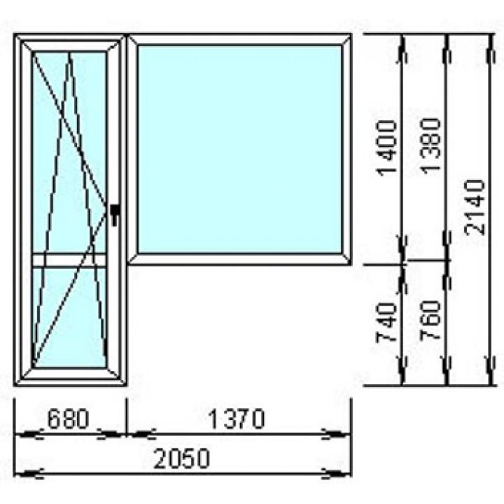 Окно металопластиковое WDS-500, заказать недорого по низким ценам.