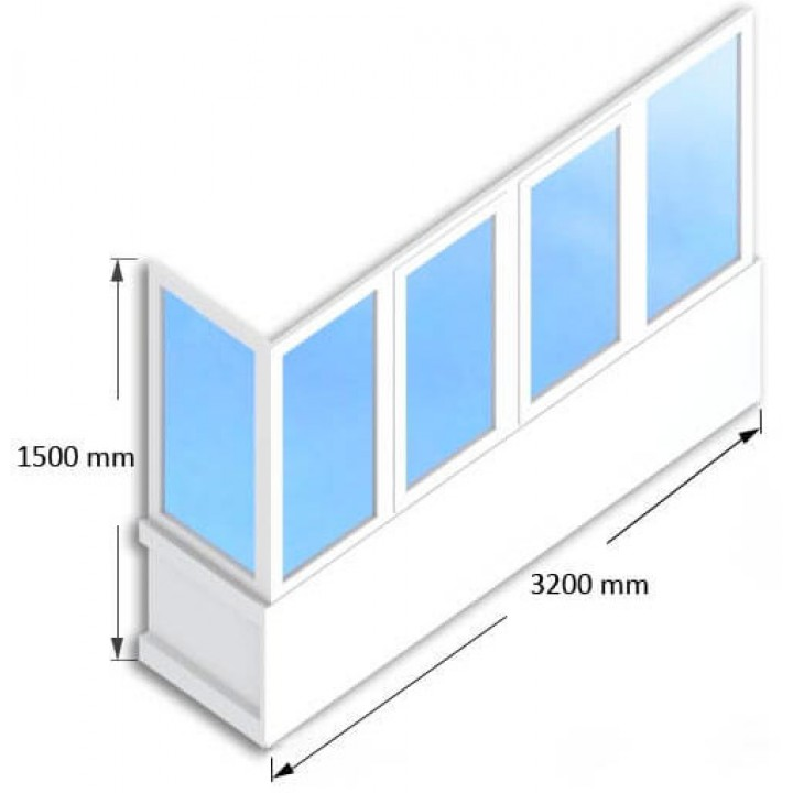 Балкон  WDS-400, заказать недорого по низким ценам.