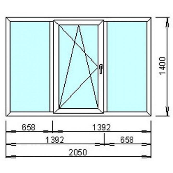 Окно металопластиковое  WDS-400, заказать недорого по низким ценам.